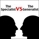 should entrepreneurs specialize?