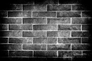 14172711-black-and-white-brick-wall-with-hdr-technique